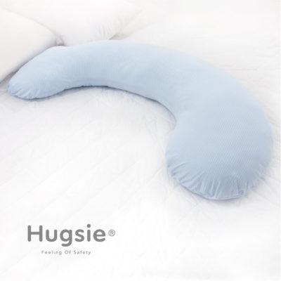 條紋瓷藍枕套【S】